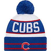 New Era Men's Chicago Cubs Blue Fan Favorite Knit Hat