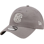New Era Men's Chicago Cubs Grey Core Classic 9Twenty Adjustable Hat