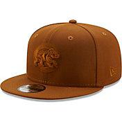 New Era Men's Chicago Cubs Tan 9Fifty Color Pack Adjustable Hat