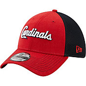 New Era Men's St. Louis Cardinals Red 39Thirty Heathered Stretch Fit Hat