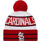 New Era Men's St. Louis Cardinals Red Fan Favorite Knit Hat