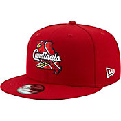 New Era Men's St. Louis Cardinals 9Fifty Red Local Adjustable Hat