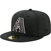 New Era Men's Arizona Diamondbacks 59Fifty Black Heather Classic Fitted Hat