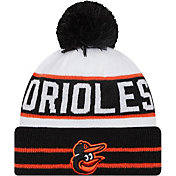 New Era Men's Baltimore Orioles Black Fan Favorite Knit Hat