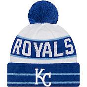New Era Men's Kansas City Royals Blue Fan Favorite Knit Hat