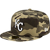 New Era Men's Kansas City Royals Camo Armed Forces 59Fifty Fitted Hat