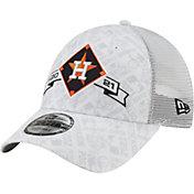 New Era Men's 2021 League Division Series Champions Houston Astros Locker Room 9Forty Adjustable Hat