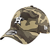 New Era Men's Houston Astros Camo Armed Forces 39Thirty Fitted Hat