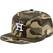 New Era Men's Houston Astros Camo Armed Forces 59Fifty Fitted Hat