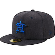 New Era Men's Houston Astros 59Fifty Navy Heather Classic Fitted Hat