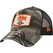 New Era Men's Houston Astros Camo Patch 9Forty Adjustable Hat