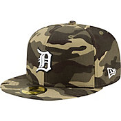 New Era Men's Detroit Tigers Camo Armed Forces 59Fifty Fitted Hat