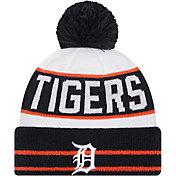 New Era Men's Detroit Tigers Navy Fan Favorite Knit Hat