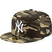 New Era Men's New York Yankees Camo Armed Forces 59Fifty Fitted Hat