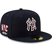 New Era Men's New York Yankees Navy 4th of July 59Fifty Fitted Hat