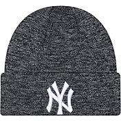 New Era Men's New York Yankees Navy Layer Knit Hat