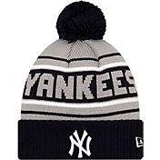 New Era Men's New York Yankees Navy Cheer Knit Hat