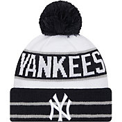 New Era Men's New York Yankees Navy Fan Favorite Knit Hat