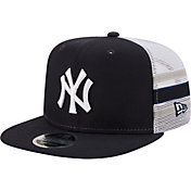 New Era Men's New York Yankees 9Fifty Navy Stripe Adjustable Hat