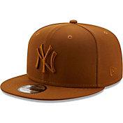 New Era Men's New York Yankees Tan 9Fifty Color Pack Adjustable Hat