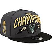New Era 2021 NBA Champions Milwaukee Bucks Locker Room 9Fifty Adjustable Hat
