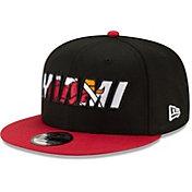 New Era Men's Miami Heat 2021 NBA Draft 9Fifty Adjustable Snapback Hat