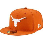 New Era Men's Texas Longhorns Burnt Orange 59Fifty Fitted Hat