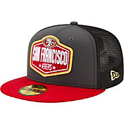 New Era Men's San Francisco 49ers 2021 NFL Draft 59Fifty Graphite Fitted Hat