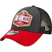 New Era Men's San Francisco 49ers 2021 NFL Draft 9Forty Graphite Adjustable Hat