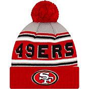 '47 Men's San Francisco 49ers Red Cuffed Cheer Knit Beanie