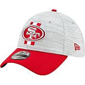New Era Men's San Francisco 49ers Grey Sideline 2021 Training Camp 39Thirty Stretch Fit Hat
