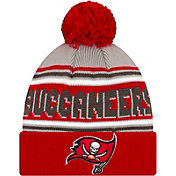 '47 Men's Tampa Bay Buccaneers Red Cuffed Cheer Knit Beanie