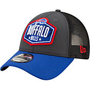 New Era Men's Buffalo Bills 2021 NFL Draft 9Forty Graphite Adjustable Hat