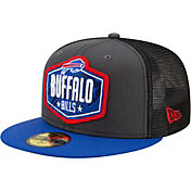 New Era Men's Buffalo Bills 2021 NFL Draft 59Fifty Graphite Fitted Hat