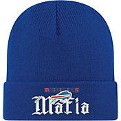 New Era Men's Buffalo Bills Mafia Royal Cuffed Knit Beanie