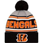 '47 Men's Cincinnati Bengals Black Cuffed Cheer Knit Beanie
