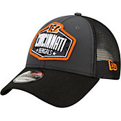 New Era Men's Cincinnati Bengals 2021 NFL Draft 9Forty Graphite Adjustable Hat