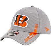 New Era Men's Cincinnati Bengals Sideline 2021 Home 39Thirty Grey Stretch Fit Hat