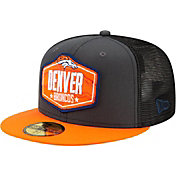 New Era Men's Denver Broncos 2021 NFL Draft 59Fifty Graphite Fitted Hat