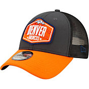 New Era Men's Denver Broncos 2021 NFL Draft 9Forty Graphite Adjustable Hat