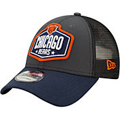 New Era Men's Chicago Bears 2021 NFL Draft 9Forty Graphite Adjustable Hat