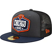 New Era Men's Chicago Bears 2021 NFL Draft 59Fifty Graphite Fitted Hat