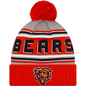'47 Men's Chicago Bears Navy Cuffed Cheer Knit Beanie