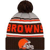 '47 Men's Cleveland Browns Brown Cuffed Cheer Knit Beanie