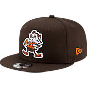 New Era Men's Cleveland Browns Basic Throwback Logo 9Fifty Fitted Hat