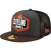 New Era Men's Cleveland Browns 2021 NFL Draft 59Fifty Graphite Fitted Hat