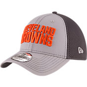 New Era Men's Cleveland Browns Grayed Out Neo 39Thirty Stretch Fit Hat