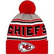'47 Men's Kansas City Chiefs Red Cuffed Cheer Knit Beanie