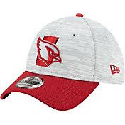 New Era Men's Arizona Cardinals Grey Sideline 2021 Training Camp 39Thirty Stretch Fit Hat
