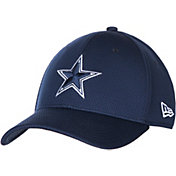 New Era Men's Dallas Cowboys Navy Basic 39Thirty Stretch Fit Hat
